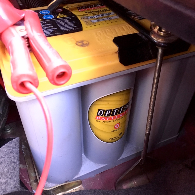 オプティマバッテリー充電