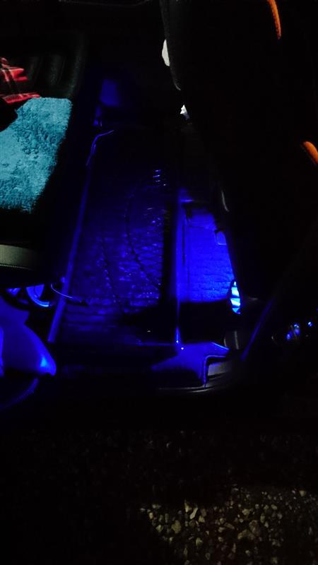 エーモン LEDフットライトキット 取付