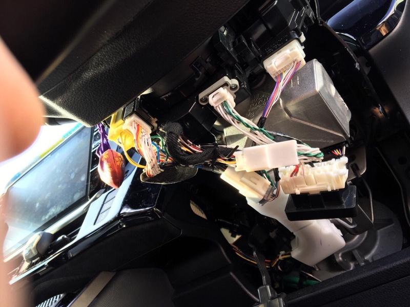 エンラージ商事 OBDタイヤ空気圧監視システム TPMS取り付け①