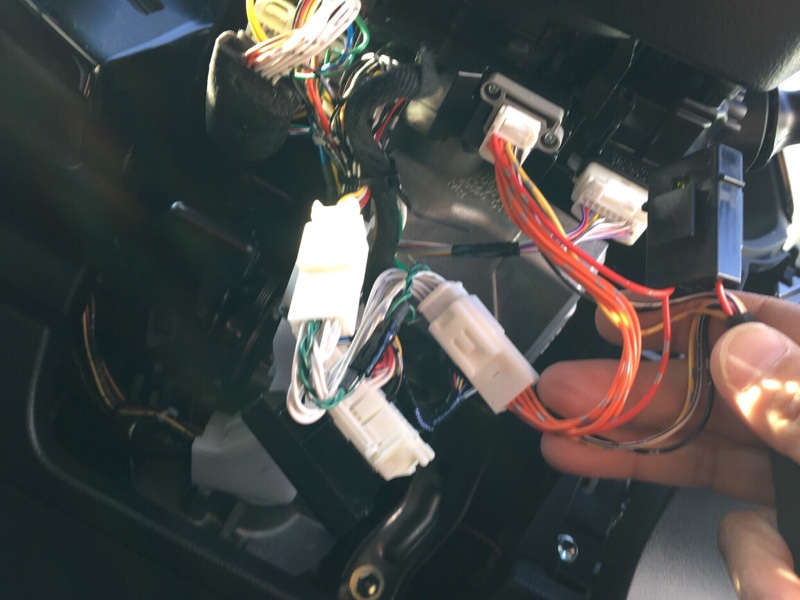 エンラージ商事 OBDタイヤ空気圧監視システム TPMS取り付け②