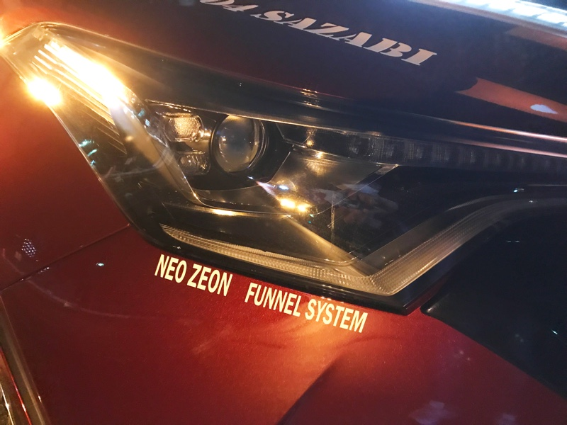 自作 NEO ZEON デカール貼り付け