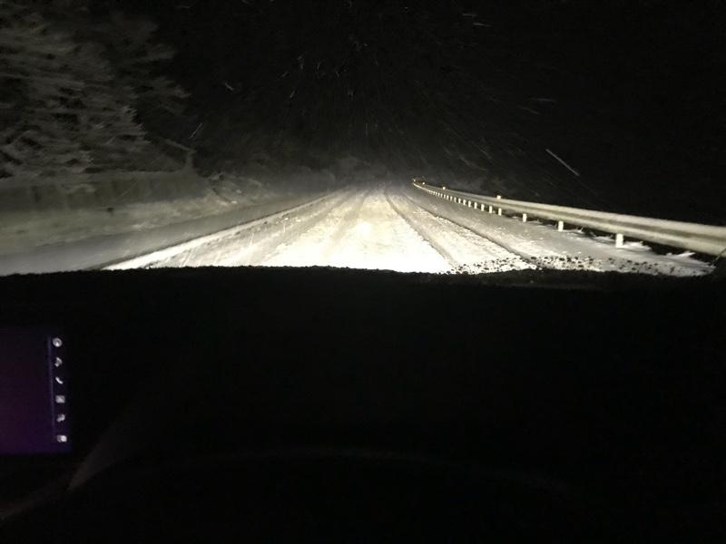 雪にノーマルタイヤで挑む