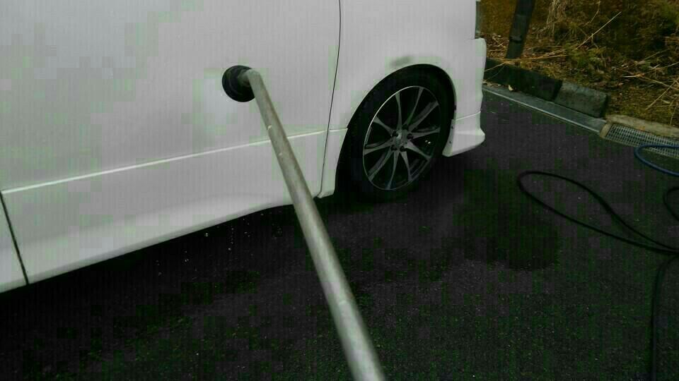 寒中! 早送り⏩時短洗車💦