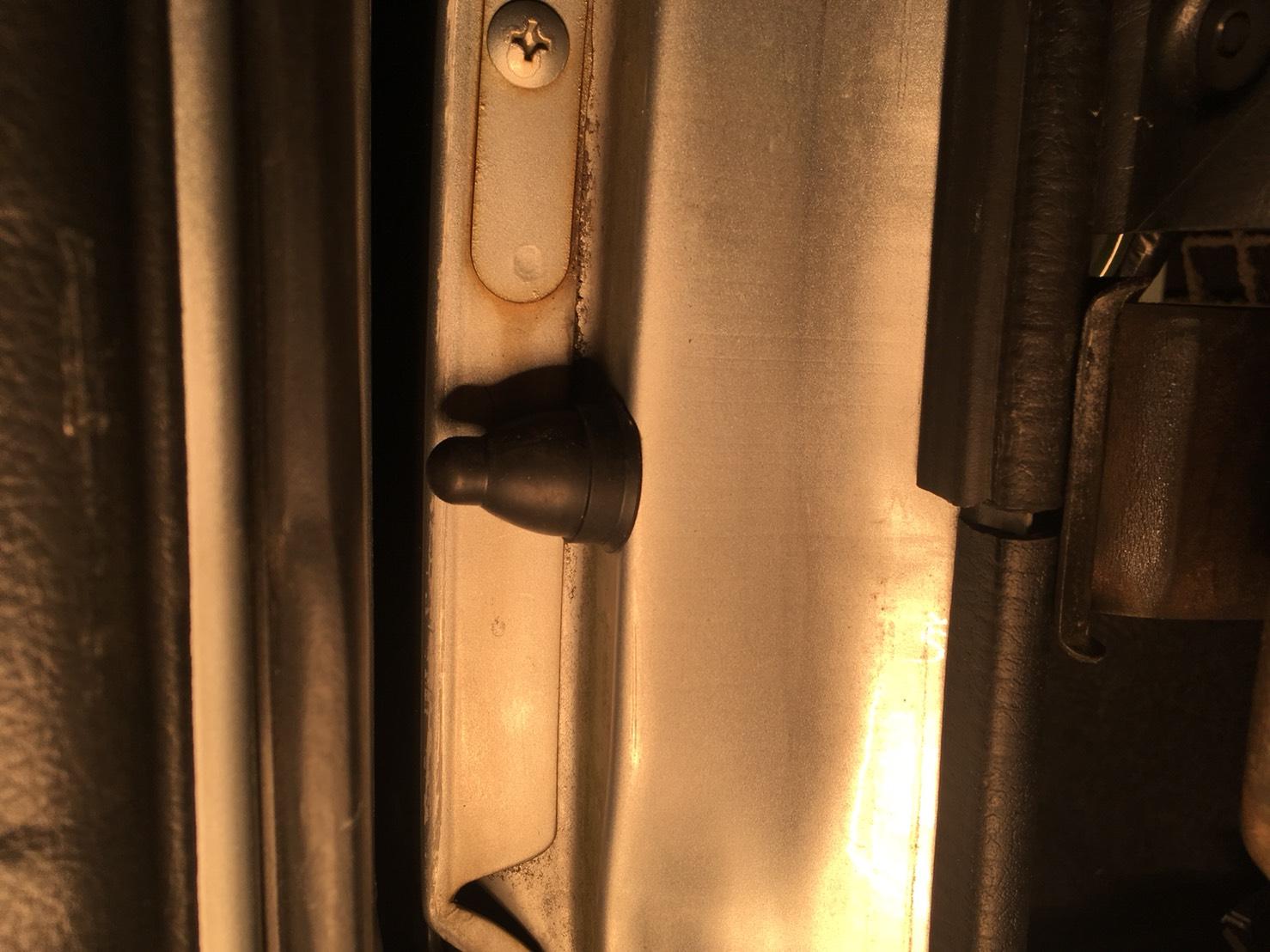 ドア開閉センサー追加