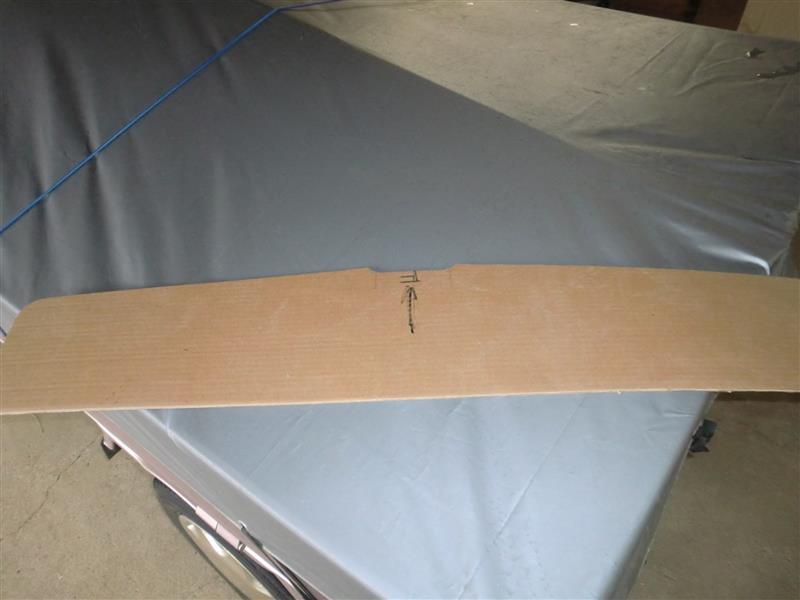 オーバーヘッドシェルフを作ってみました