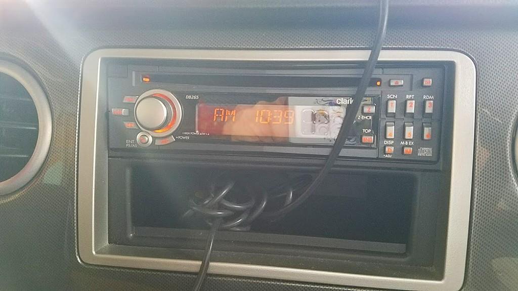 パナソニック製CD6枚2Dチェンジャーレシーバー導入