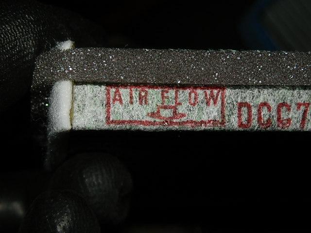 エア(コン)フィルター交換♪22893km。