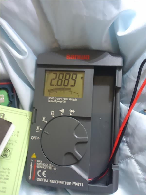 キーレス電池交換準備