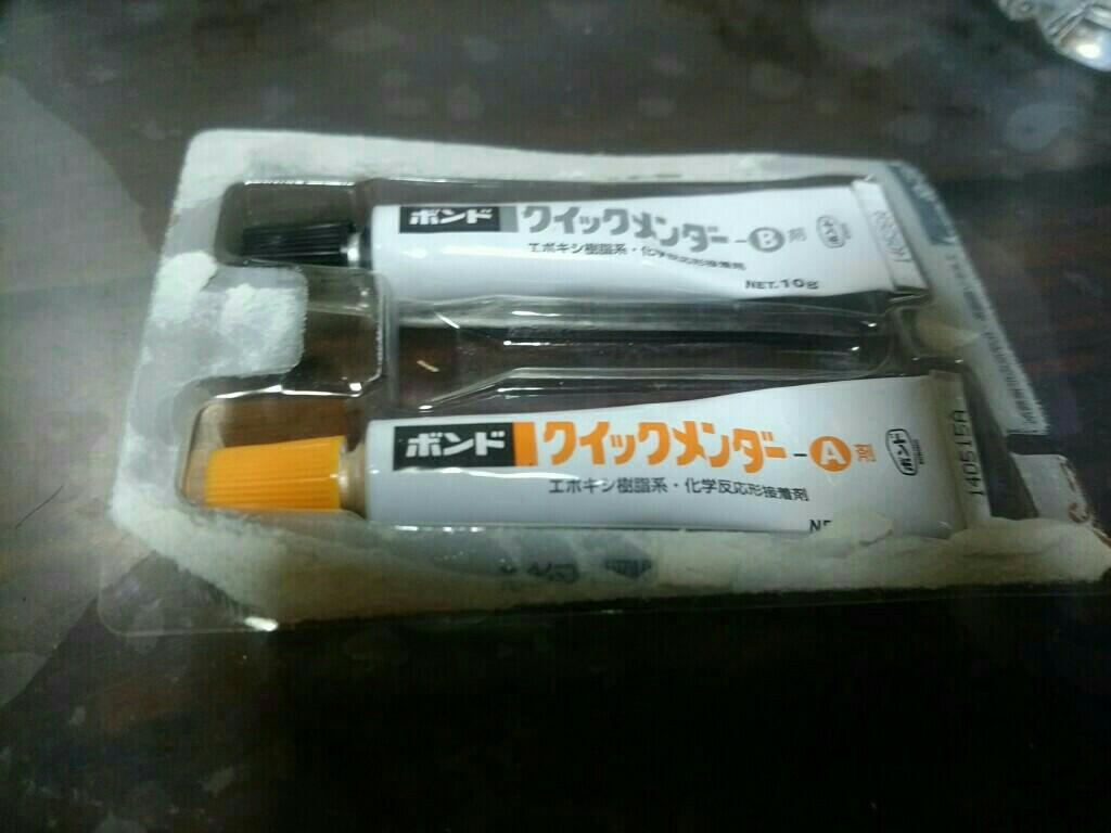 LEDバルブの爪折れ補修