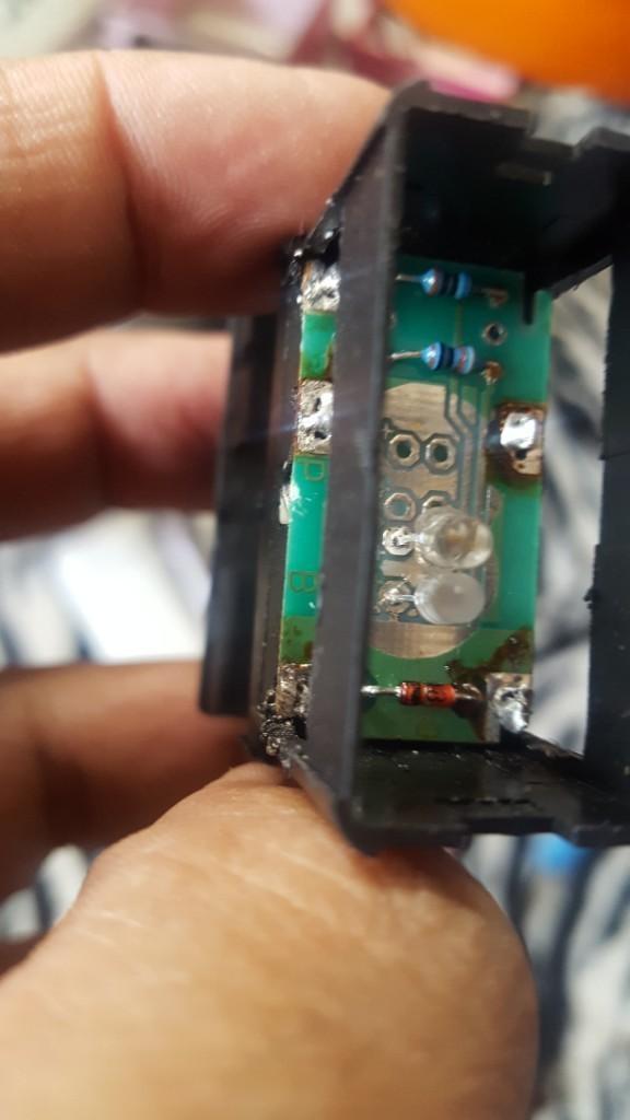 電熱スイッチLED交換