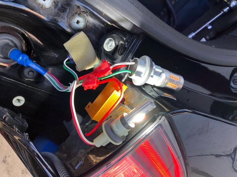 JUNACK LEDIST ウィンカーランプ  バックランプ交換