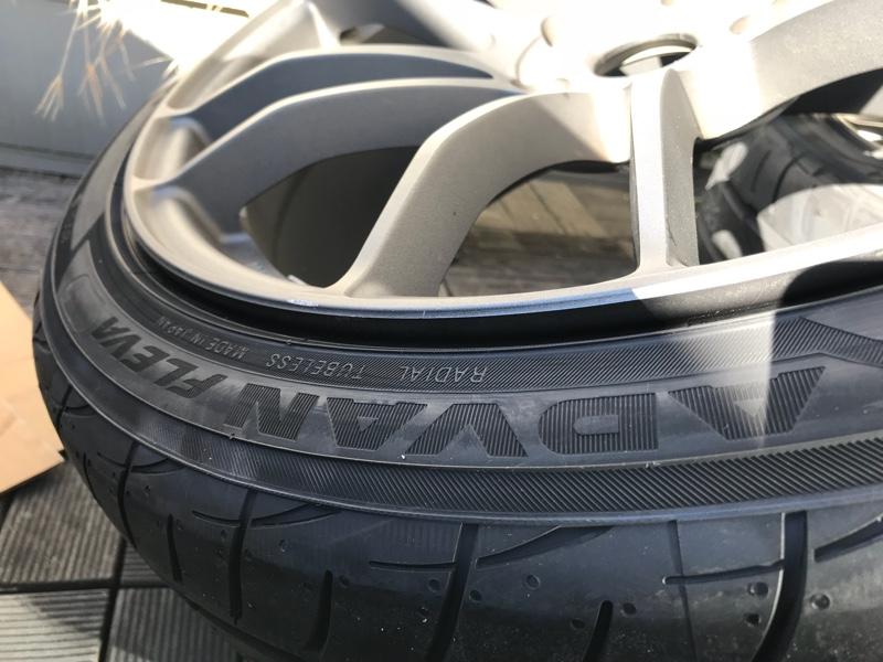 タイヤ新調