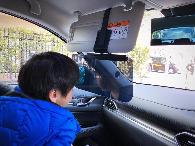 バイザー・収納ボックスで車内プチ快適化