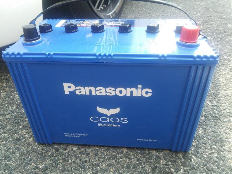 Panasonic CAOSバッテリー