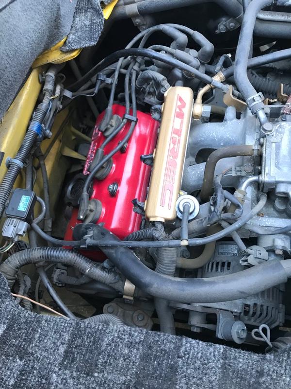 エンジンシリンダーヘッドカバー パッキン交換