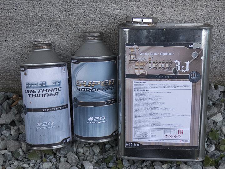 NA ロードスター ハードトップ塗り替え 02