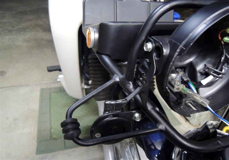 スーパーカブ110プロ ウインカー交換