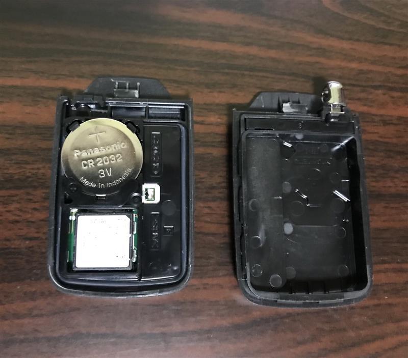 キー電池交換3分クッキング