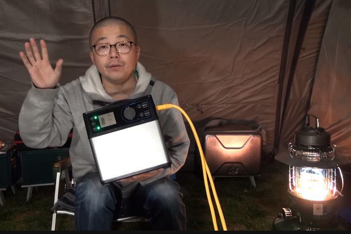 冬キャンプのテントは寒い!ポータブル電源で電気敷毛布が朝まで使えるか試してみた【成田ゆめ牧場