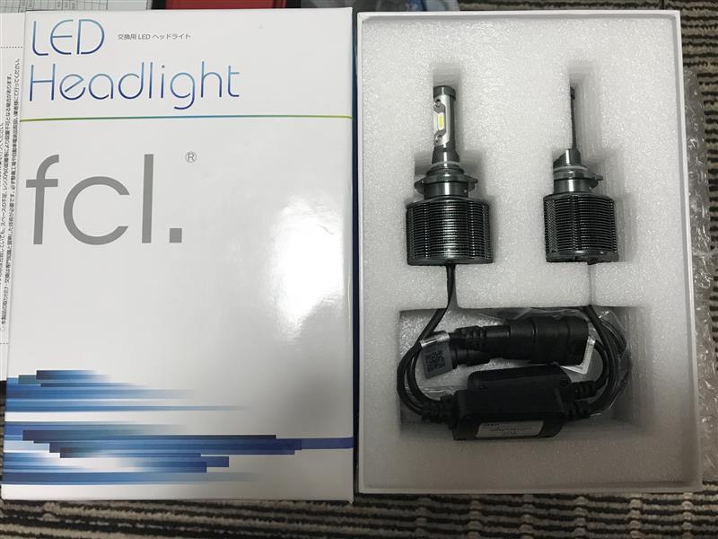 【fcl.】新型LEDヘッドライト ファンレス HB3 part2