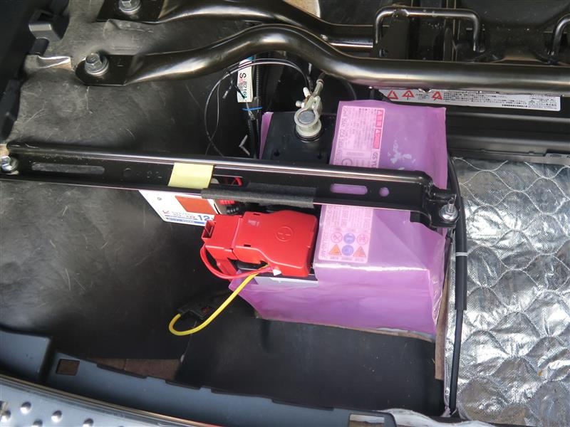 セルスターソーラー充電器 SB-700 の取付