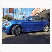 BMW:F20にオプション純正をお取り付け! FIT都筑店です(*'▽')