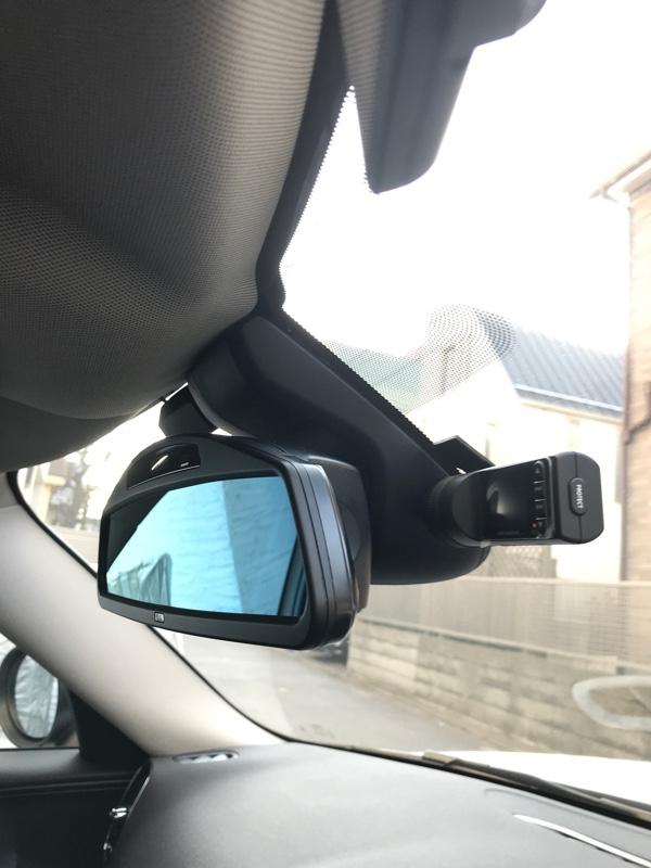 ドライブレコーダー移設