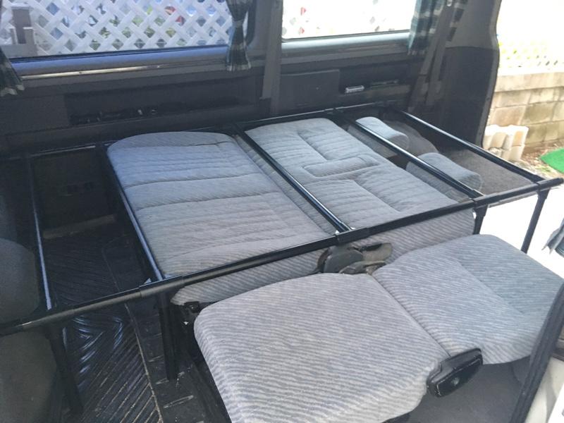 脱着式の就寝設備