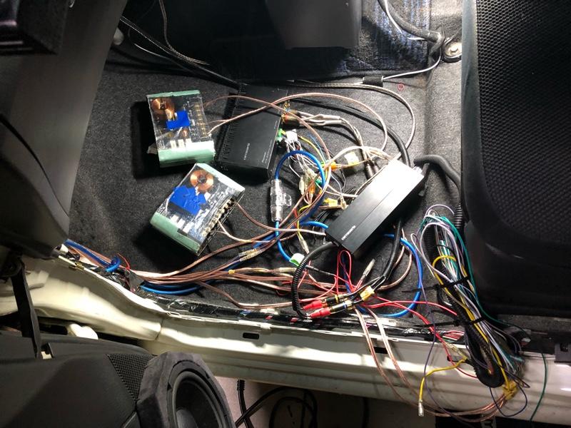 オーディオシステム 配線接続