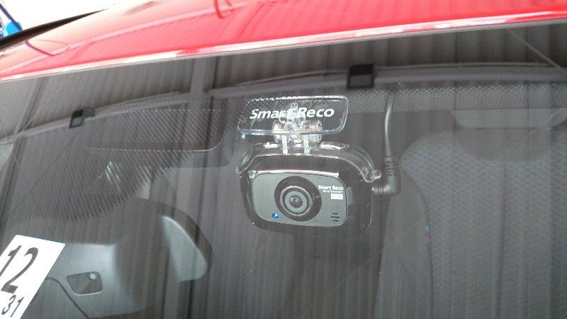 ドライブレコーダー Smart Reco WHSR-510 取付