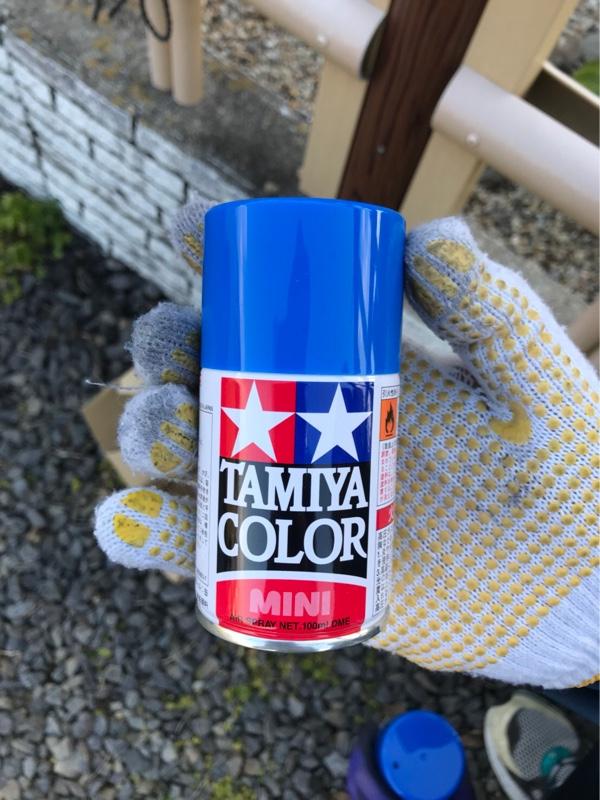 ツィーターカバーリング塗装加工
