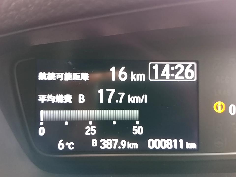 【新型N-BOX】平成30年2月4日の燃費記録【JF3】