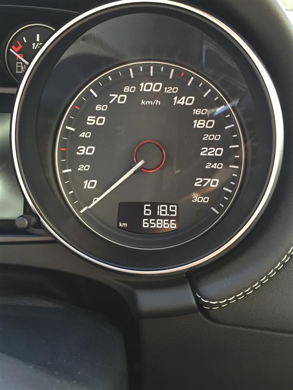 65866km、エンジンオイル交換