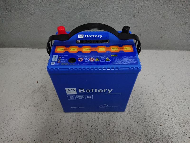 サンバーバッテリー交換