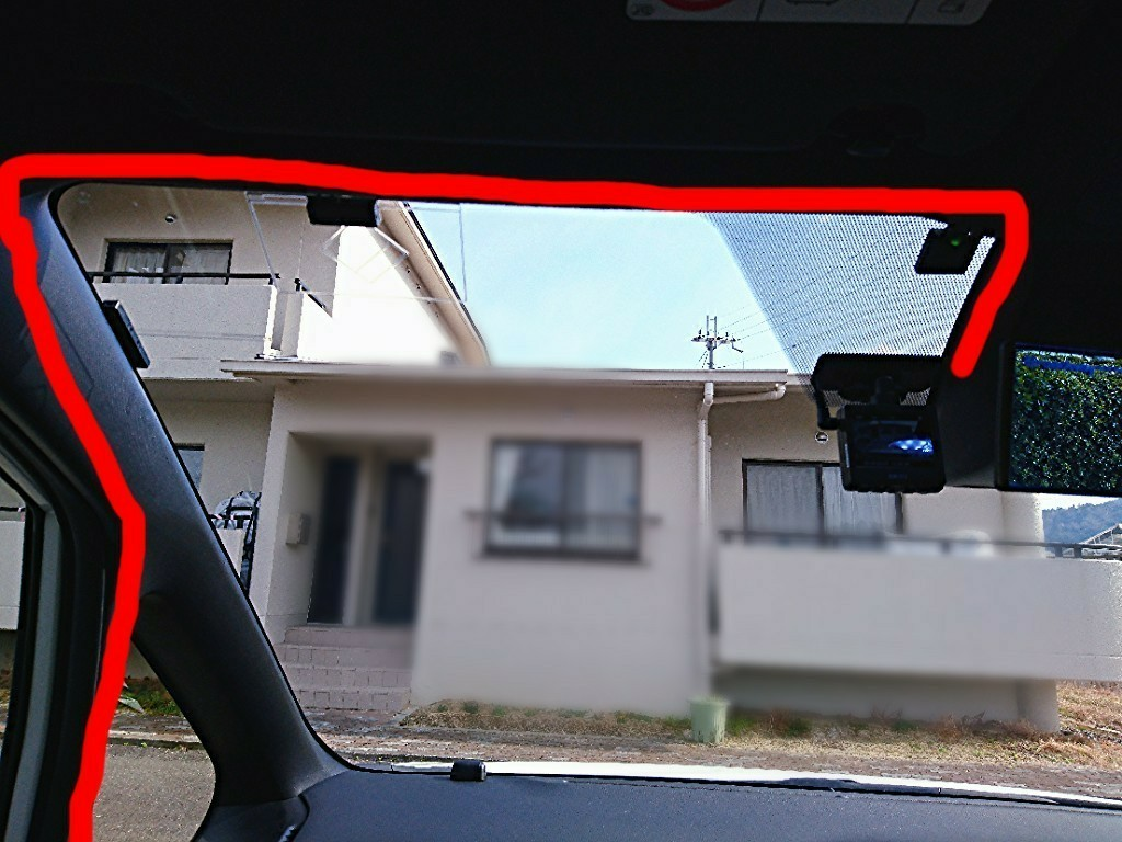 ドライブレコーダー取付(移設)