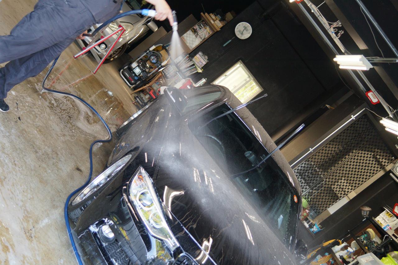 横浜よりys special ver.2 施工後1年10ヶ月BMW320i Mスポーツ入庫頂きました