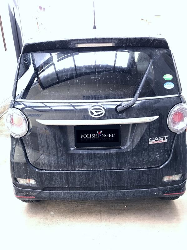 今年初の洗車&ワックス