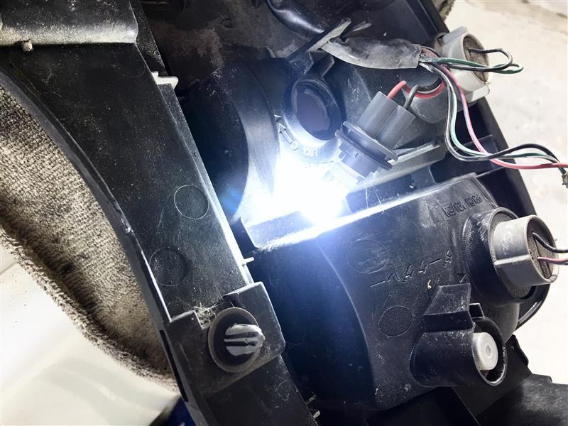 """""""バックランプ""""を高輝度LEDに交換しました♪🤗"""