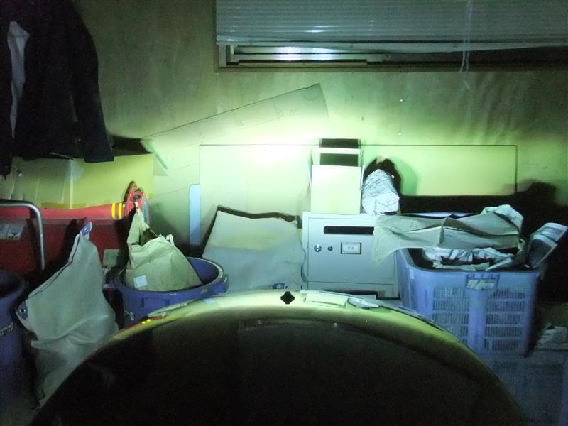フロント作業灯の交換その2