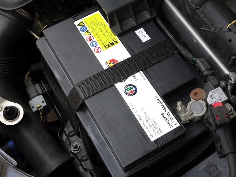 オイル、エレメントとバッテリーの交換