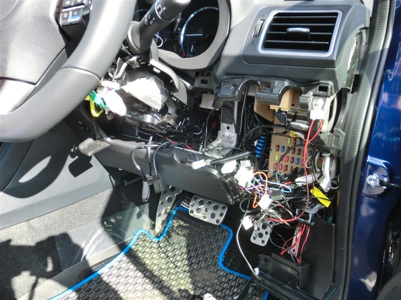 SI-DRIVEオート化ユニット取り付け①