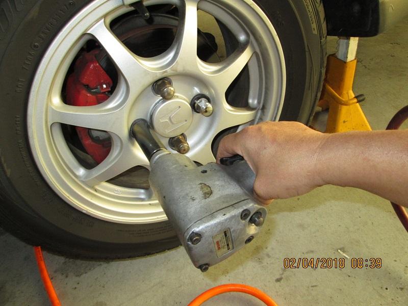 98 Civic: Tire Rotation @104444