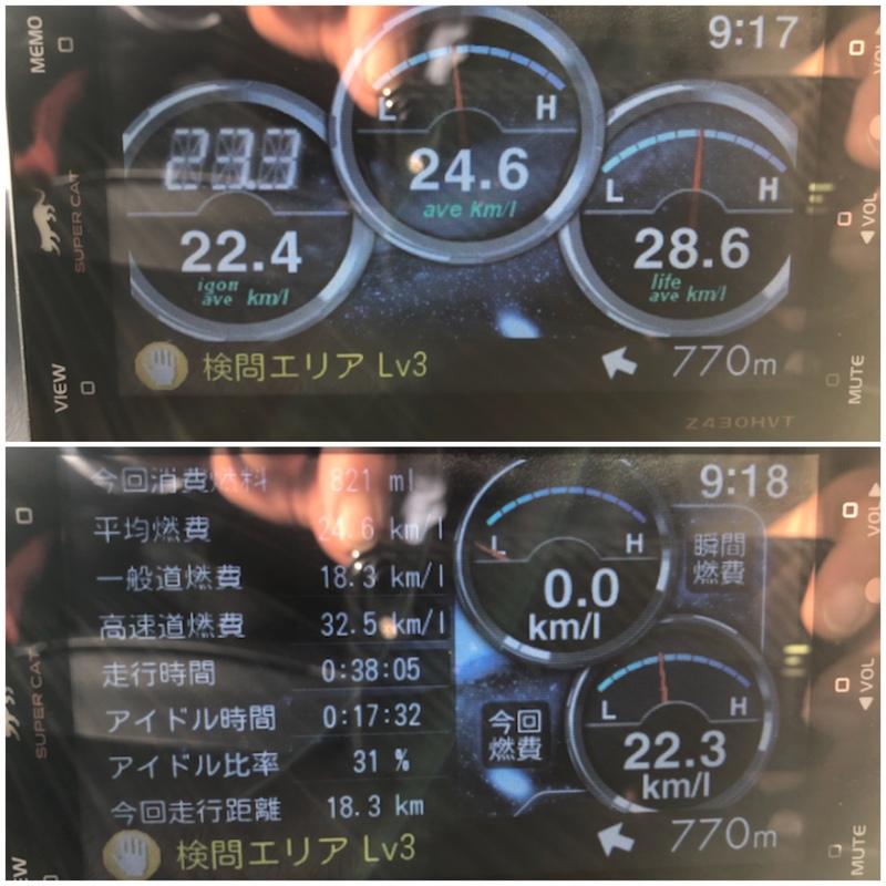 eco Glider GT+ 走行記録 1842