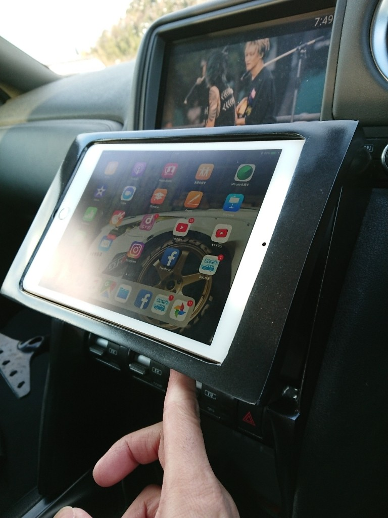 ipad mini dash install part.2!!!