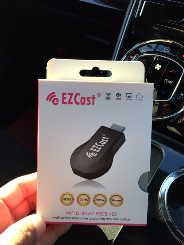 EZcast 取り付け