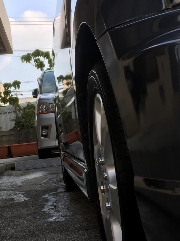 洗車を優先したぞ〜