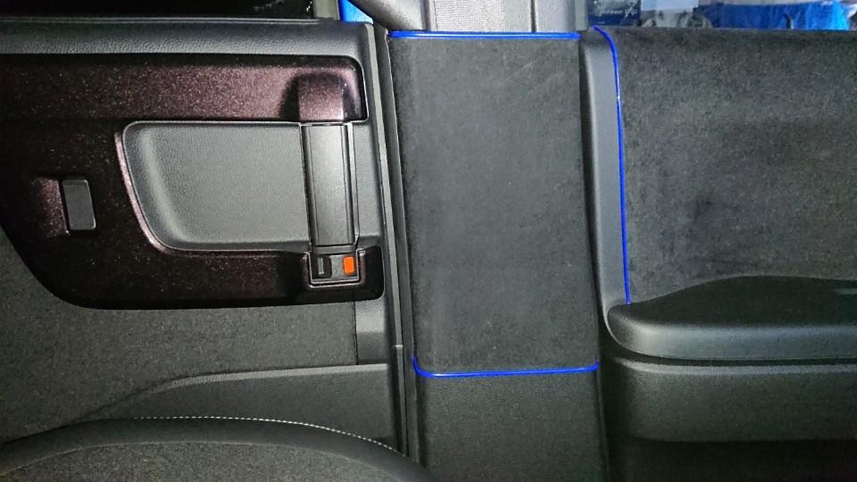傷防止シート貼り替え