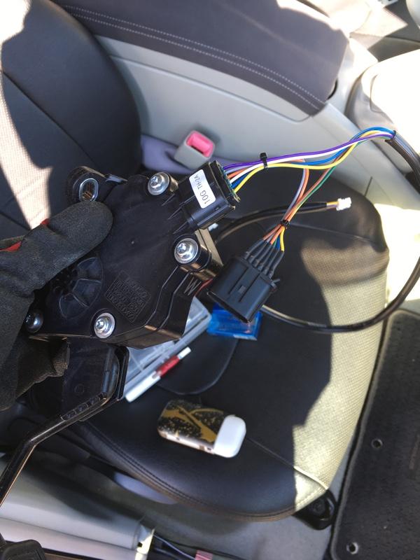 PIVOT 3-drive COMPACT 取り付け