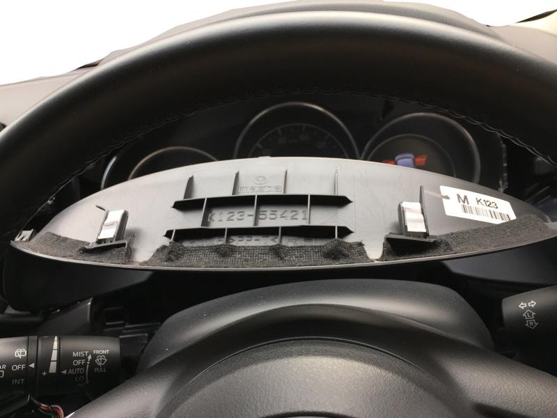 デコレーションパネル・メーターフードの軋み音対策