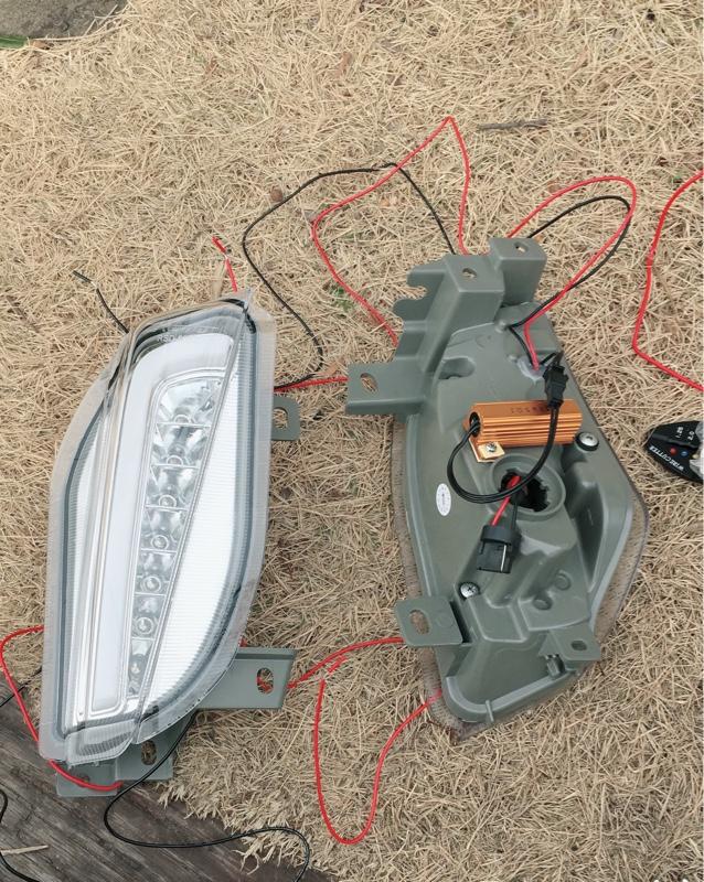 LEDフロントウィンカーランプ
